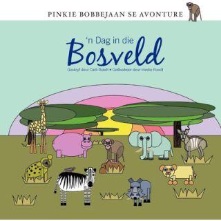Pinkie Bobbejaan se Avonture: 'n Dag in die Bosveld