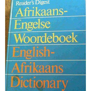 Afrikaans-Engelse Woordeboek: English-Afrikaans Dictionary